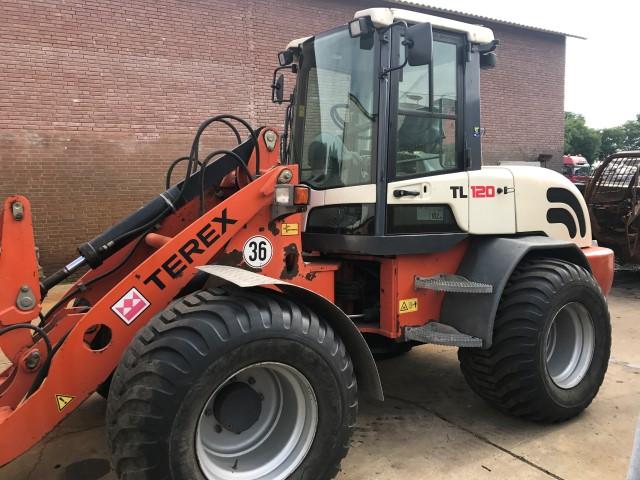Terex TL120, verkocht
