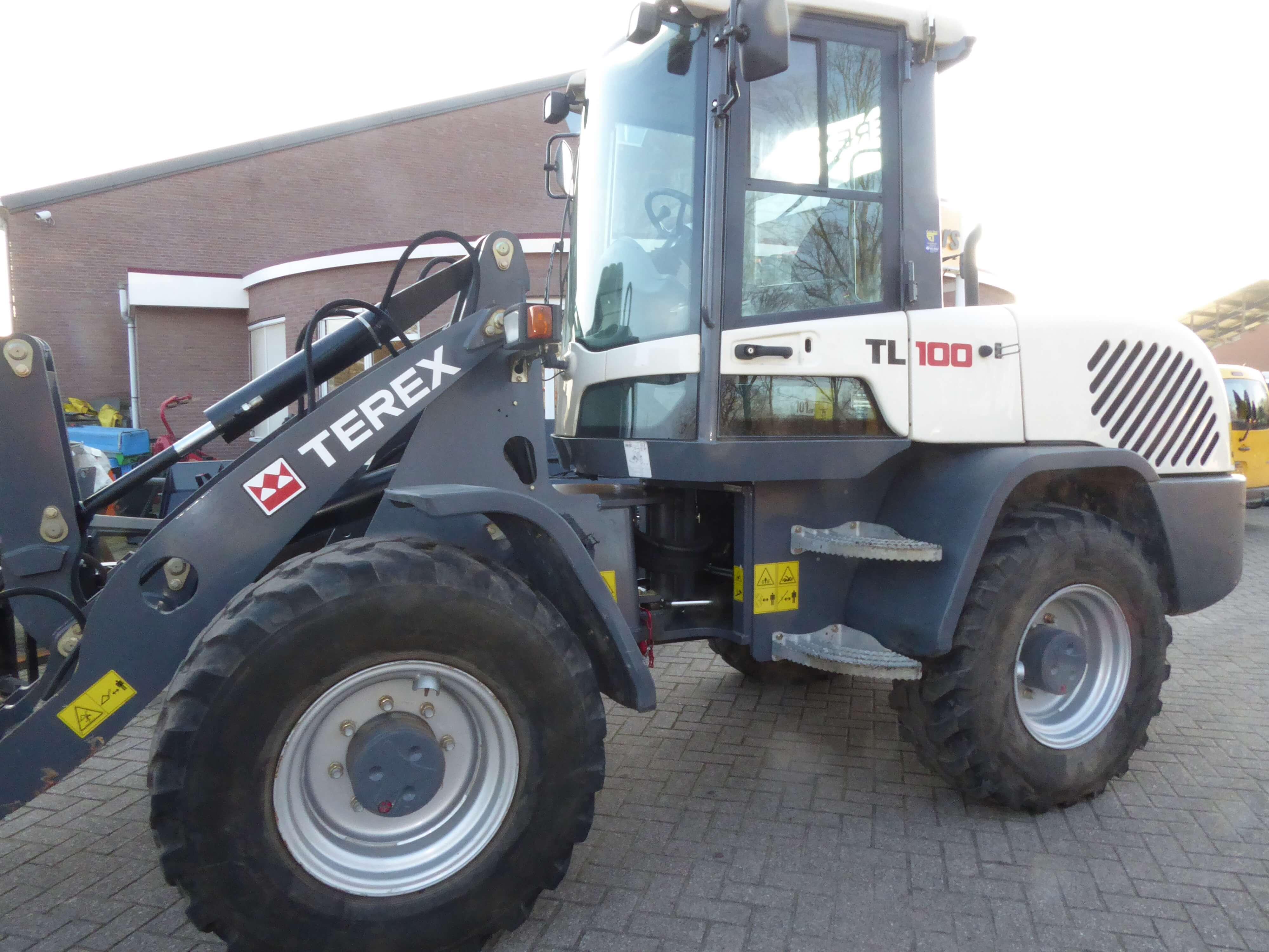 Terex TL100, verkocht