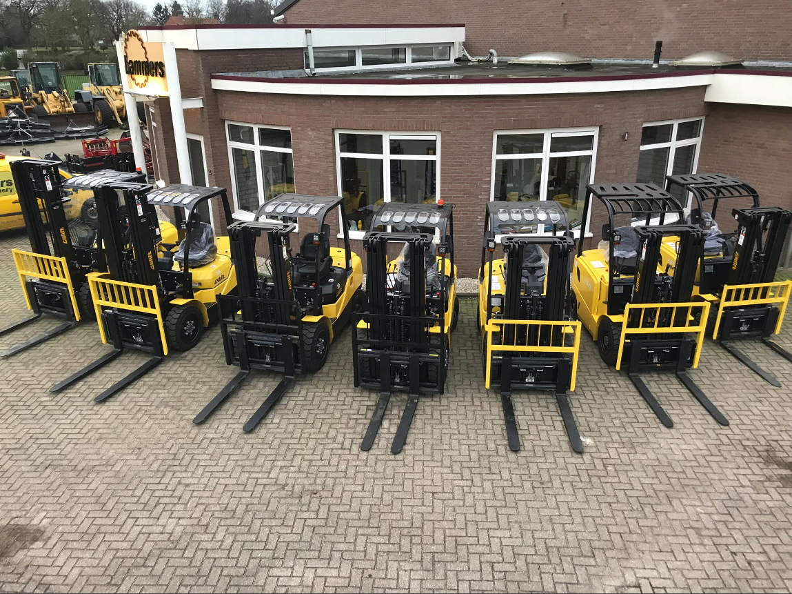 Nieuw binnen! GS Lift heftrucks van 1,5 tot 10 ton
